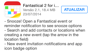 Photo of Fantastical 2.1 para iOS na Área, snooze