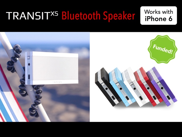 Photo of Transit XS, caixa bluetooth para bikes ou tripés