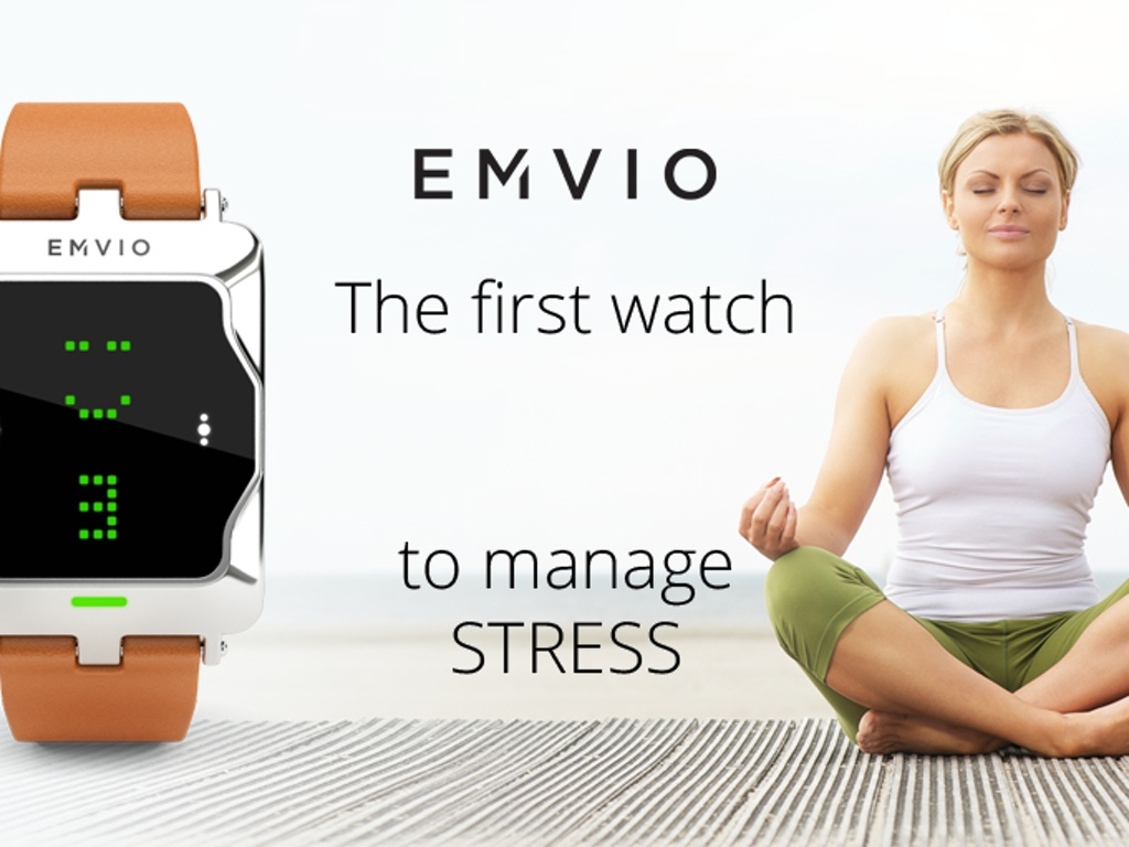 Photo of Emvio, smartwatch para medir seu estresse