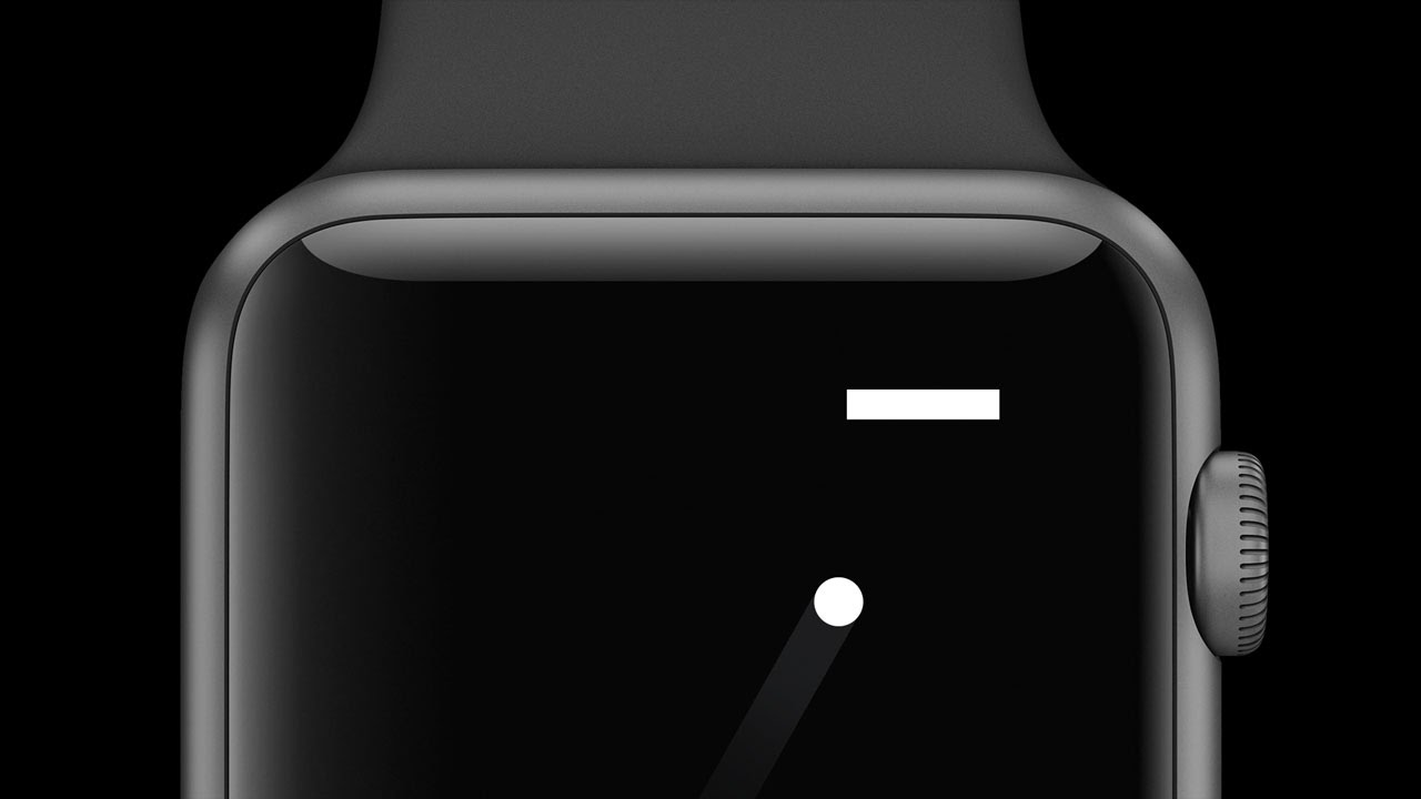 "Photo of A Tiny Game of Pong, game ""retro-clássico"" para Apple Watch"
