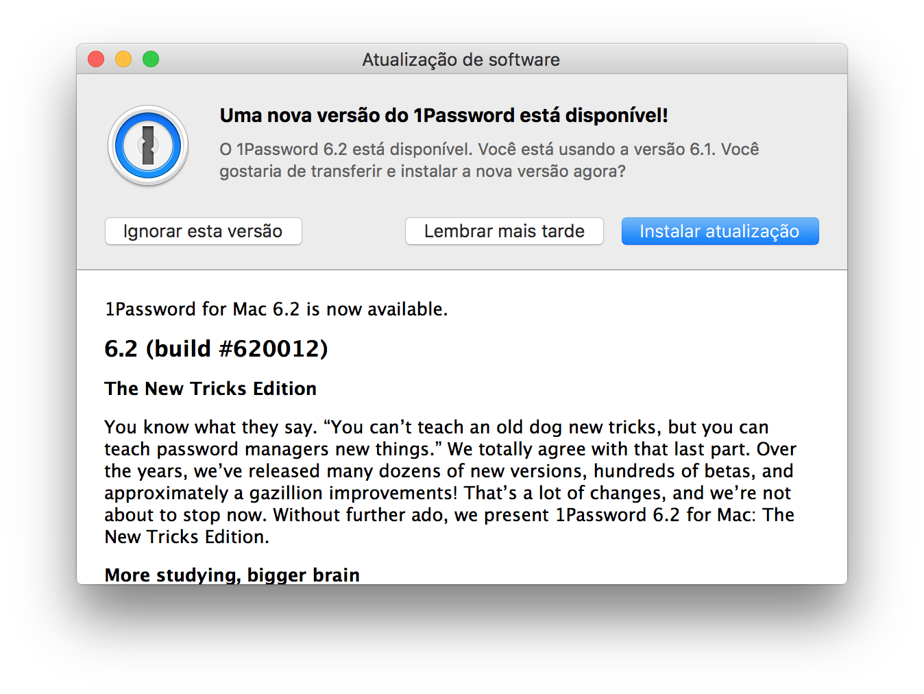"Photo of 1Password 6.2 para Mac na Área, novo ""truques"""