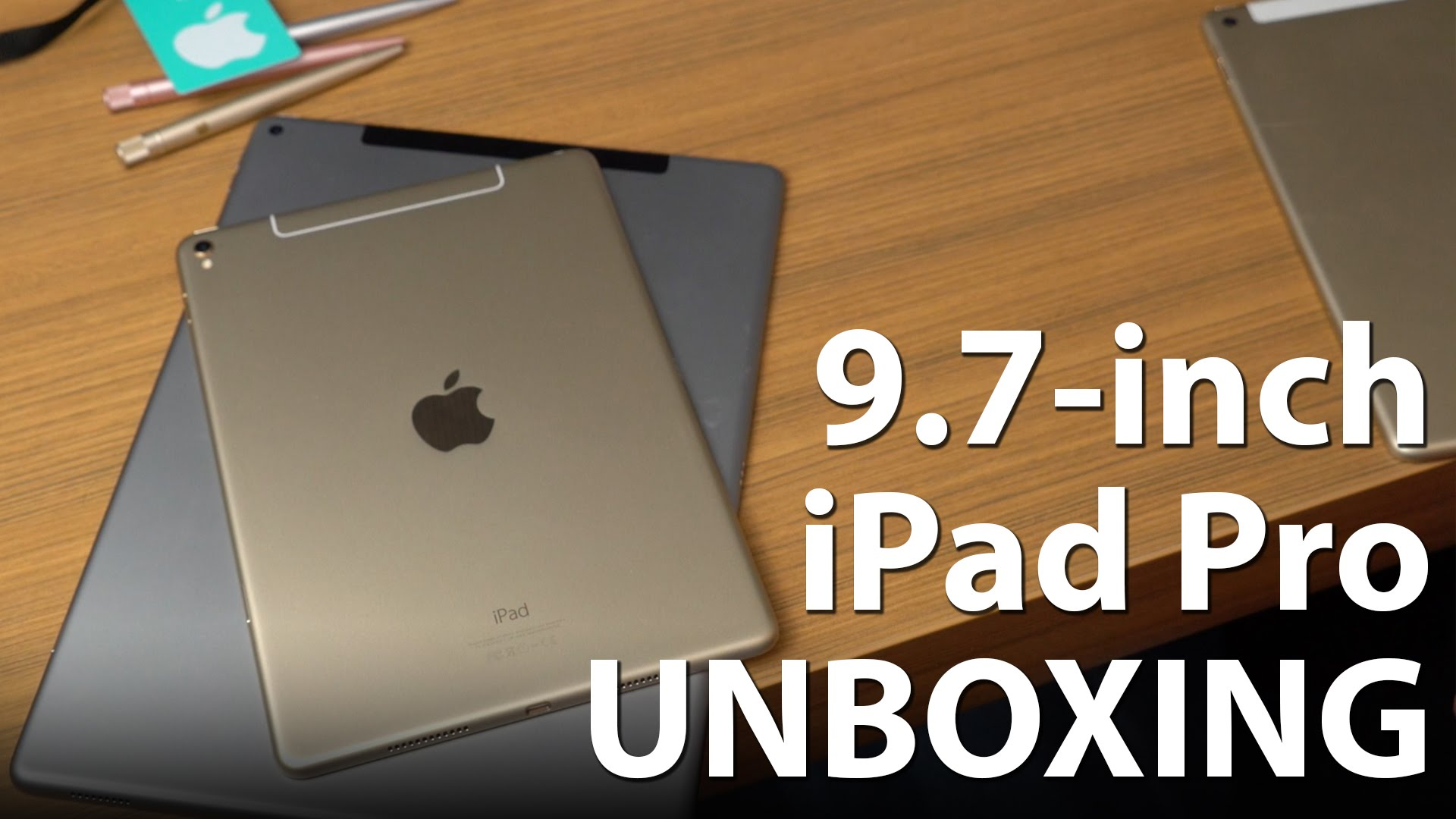 Photo of Unboxing do iPad Pro de 9.7″