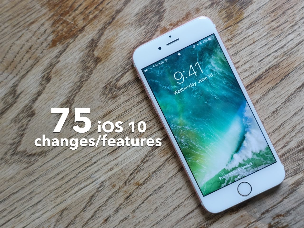 Photo of 75 Novidades do iOS 10