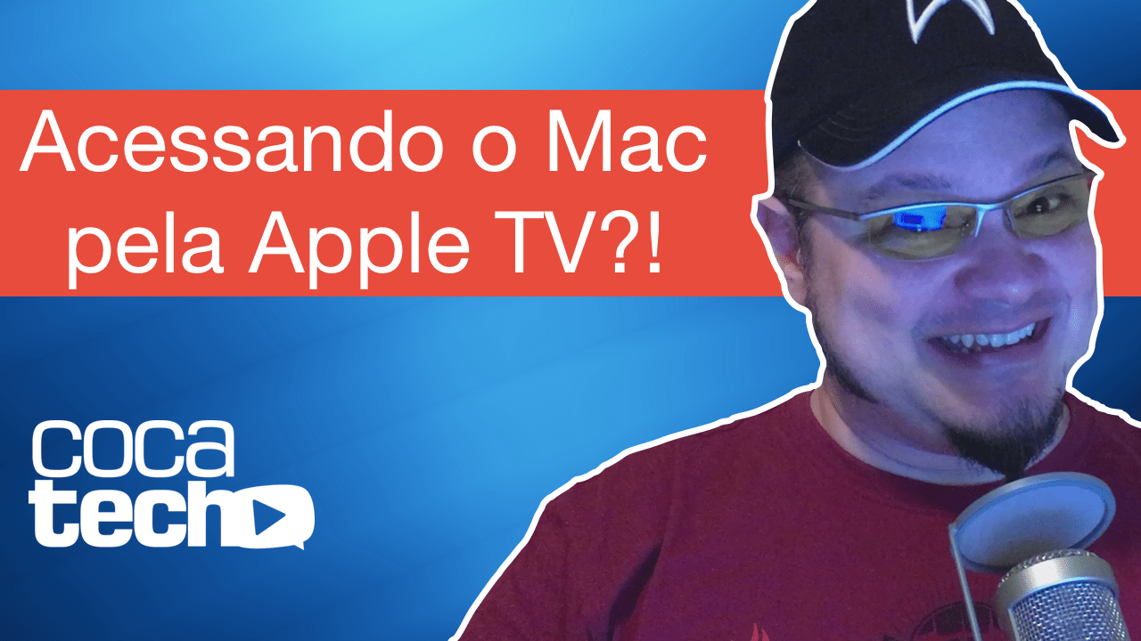 Foto de Mac na Apple TV?!