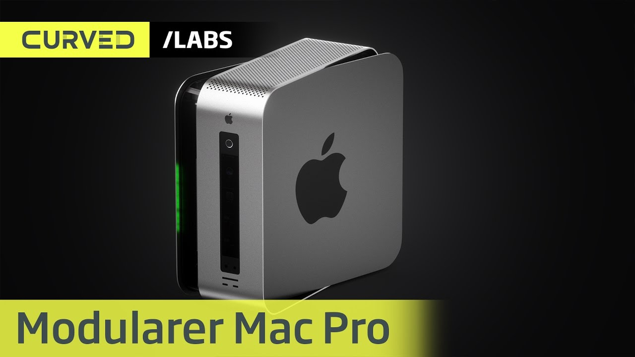 Photo of Conceito de Mac Pro Modular