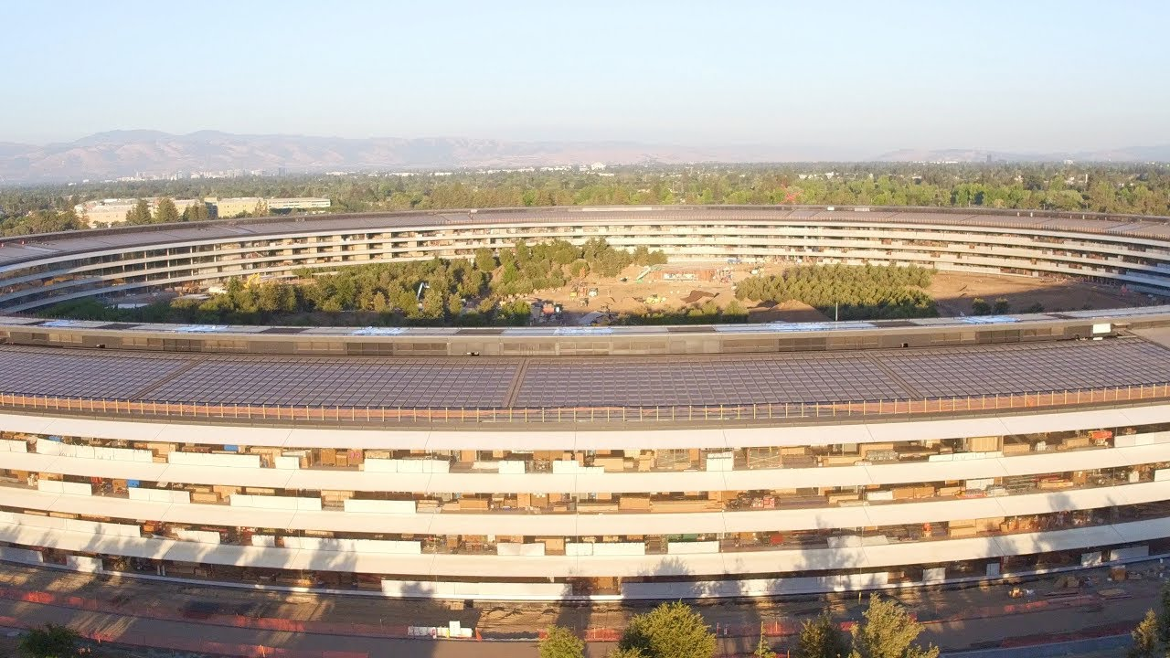 Photo of Como Andam as Obras do Apple Park, landscaping