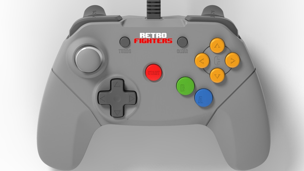 Photo of Next Gen N64: Retro Fighters com layout do N64