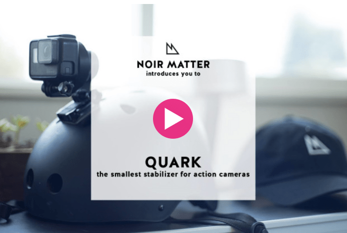 Photo of Quark: sua GoPro estabilizada