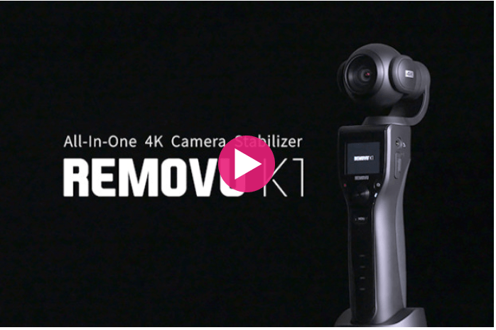 Photo of REMOVU K1: camera de ação 4k com gimbal