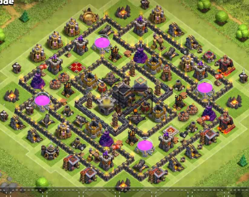 Clash Clans Town Hall Level 9