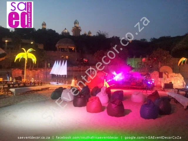 Beach Theme Decor Hire Cocktail Events And Glass Tables
