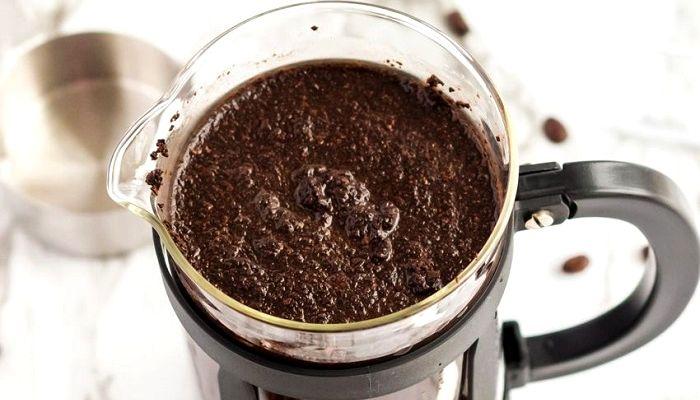 Бір кесе кофеде қайнату, фотосурет