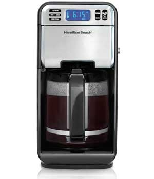 Hamilton Beach 12-Cup Digital Coffee Maker, Stainless Steel (46201 )