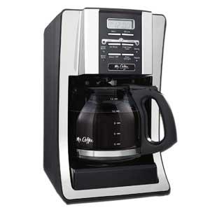 10 mr coffee bvmcsjx33gt 12cup coffee maker
