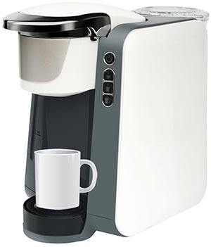 Single Cup Brewer - K Cup Compatible