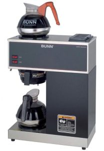 BUNN VPR-2EP 12-Cup Pourover Commercial Coffee Brewer