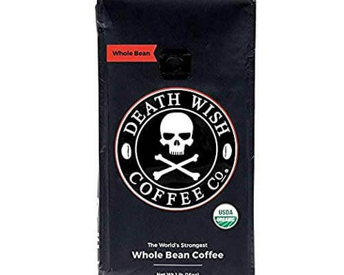 Death Wish Whole Bean Coffee