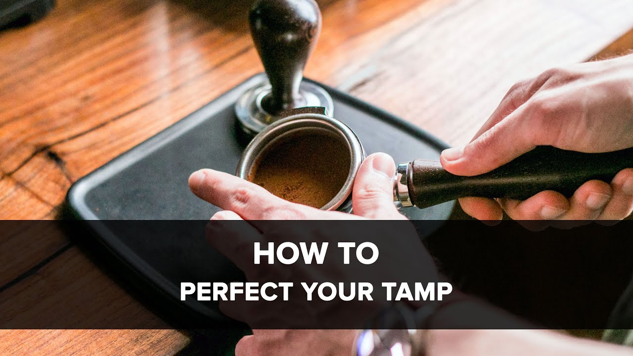 how to tamp espresso