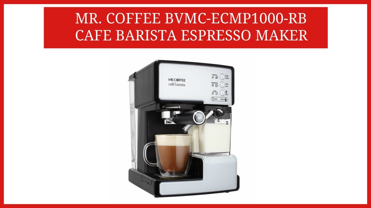 mr coffee cafe barista
