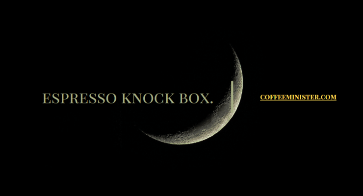 best espresso knock box