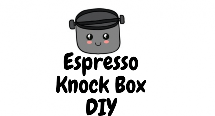 espresso knock box diy