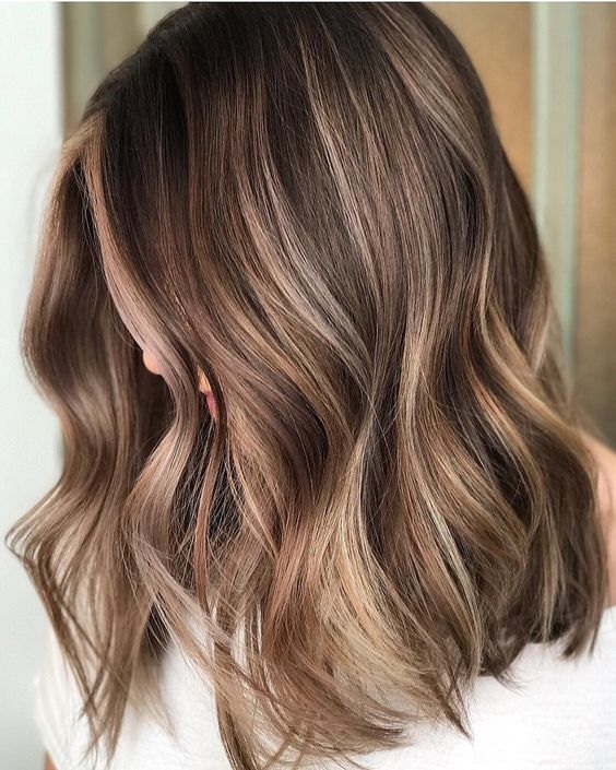 Highlights Light Ash Brown Hair