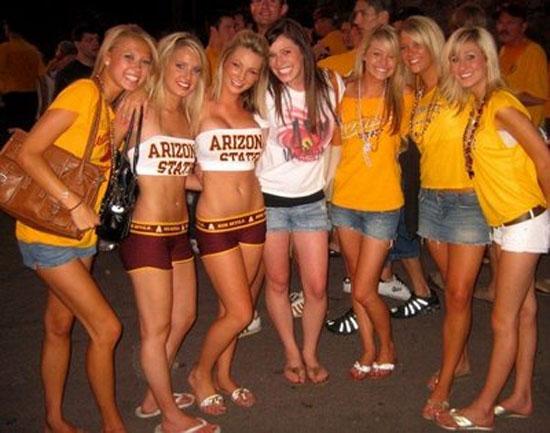 Michigan Cheerleaders Team
