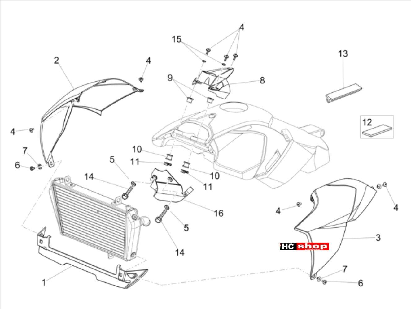 Aprilia dorsoduro 900 e4 abs aufbau seitenverkleidung dorsoduro 900 dorsoduro aprilia ersatzteile hc motorradtechnik