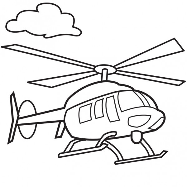 Draw Helicopter Easy Army