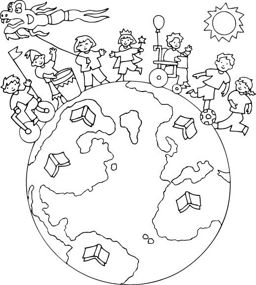 En De Saludos Dibujos Colorear Ingles Para