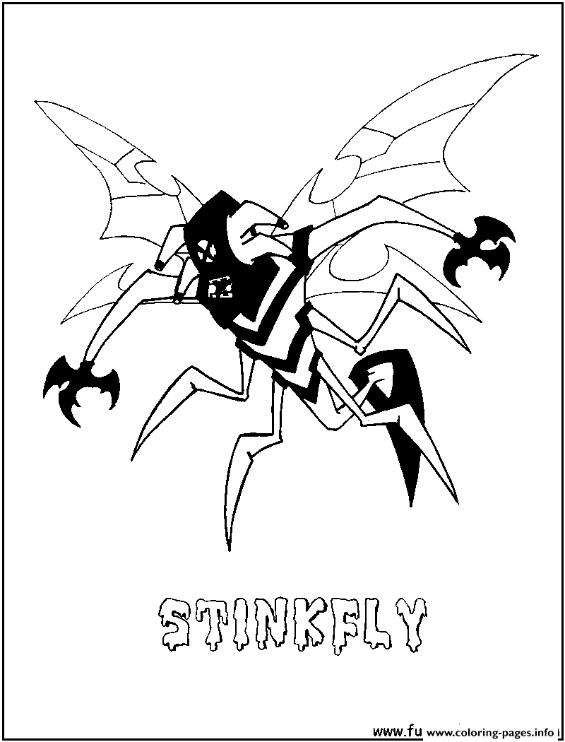 Free Coloring Pages Download Dessin Ben 10 142 Printable Of