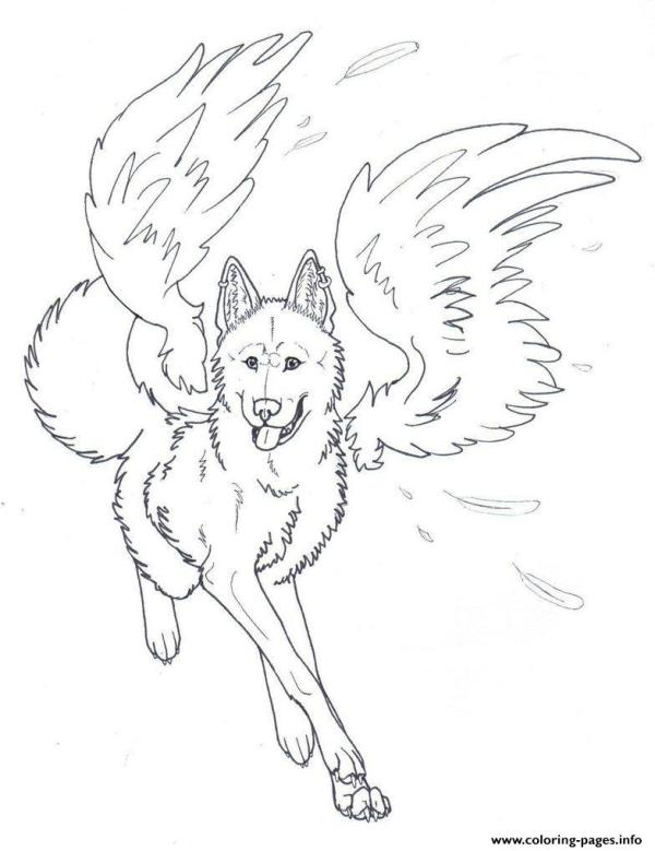 angels coloring pages # 20