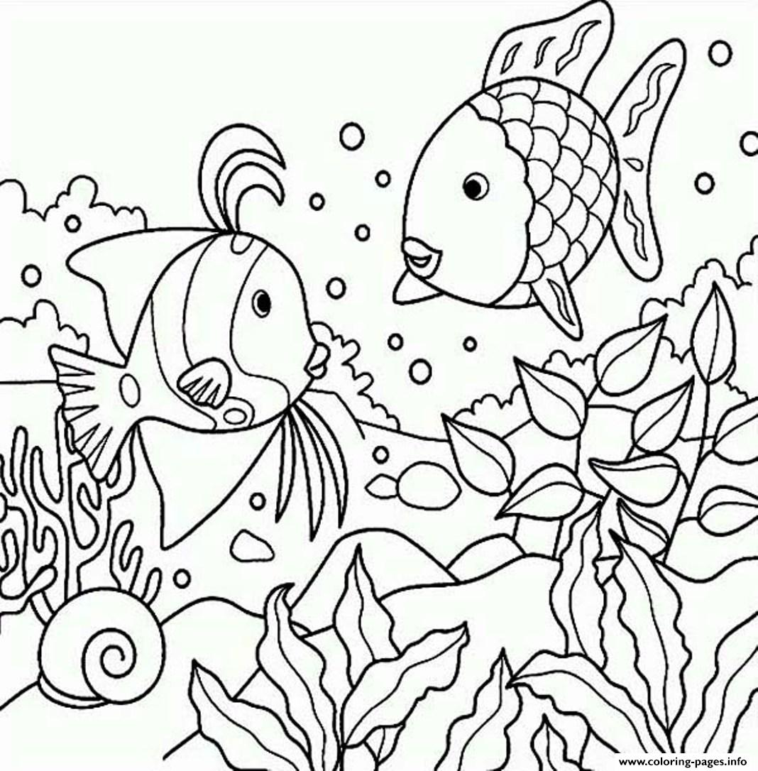 Fish Coloring Pages S Coloring Page