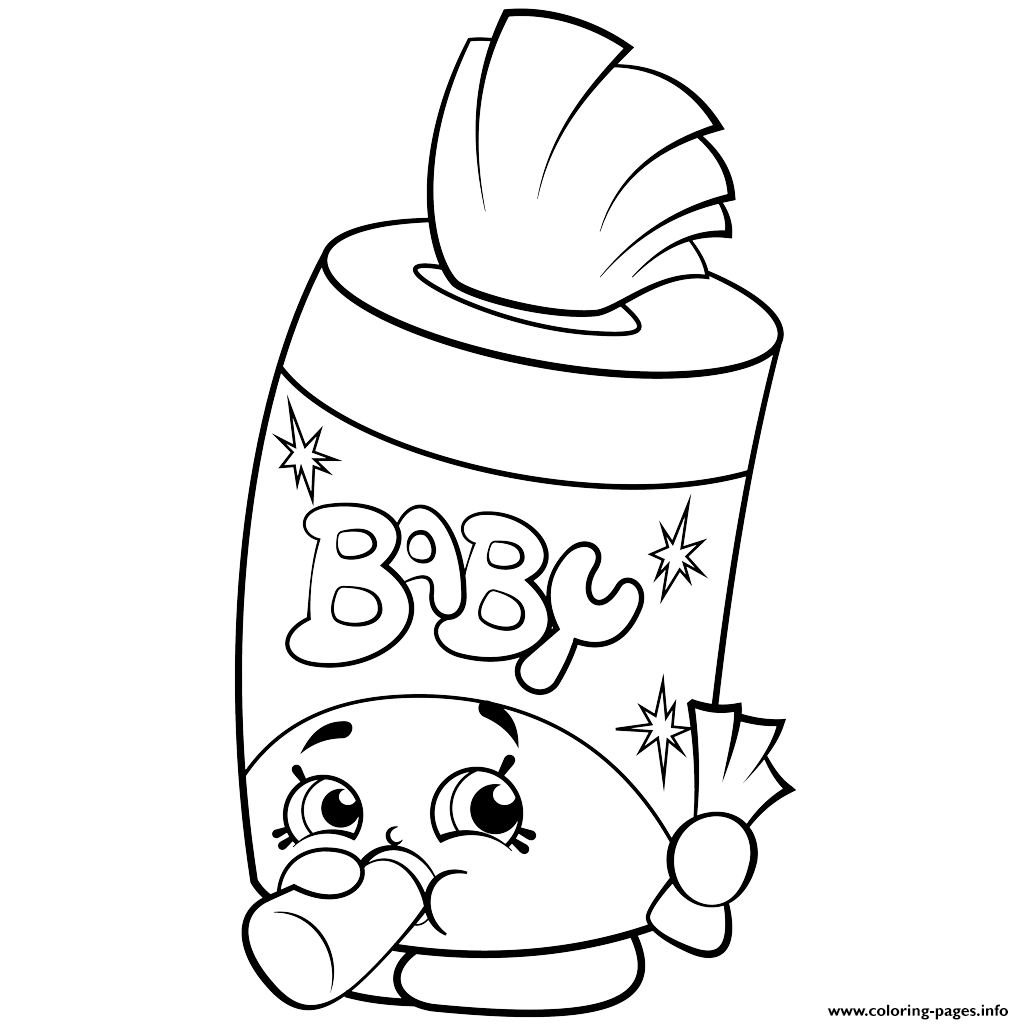 Coloring Page Of A Baby
