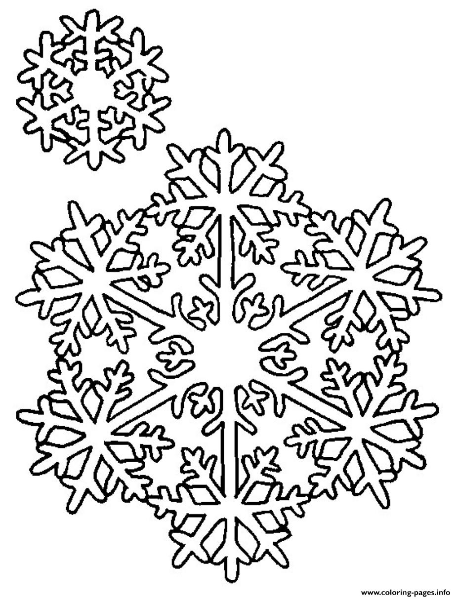 Snowflake S2e13 Coloring Pages Printable