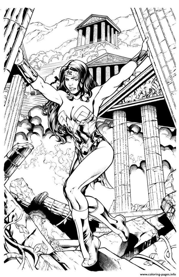dc comics coloring pages # 12