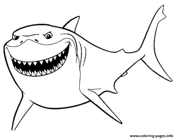 finding nemo coloring page # 46