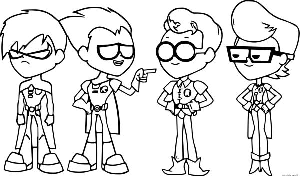 robin coloring page # 15