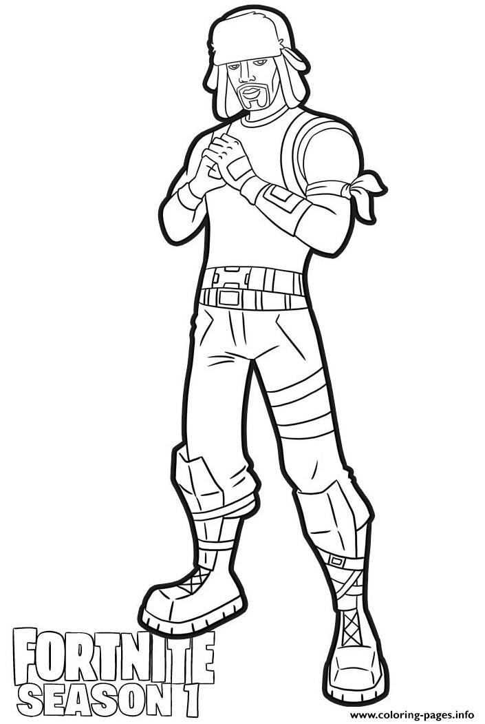 Yuletide ranger skin fortnite coloring pages printable, i love you coloring page