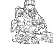 coloring pages halo # 37