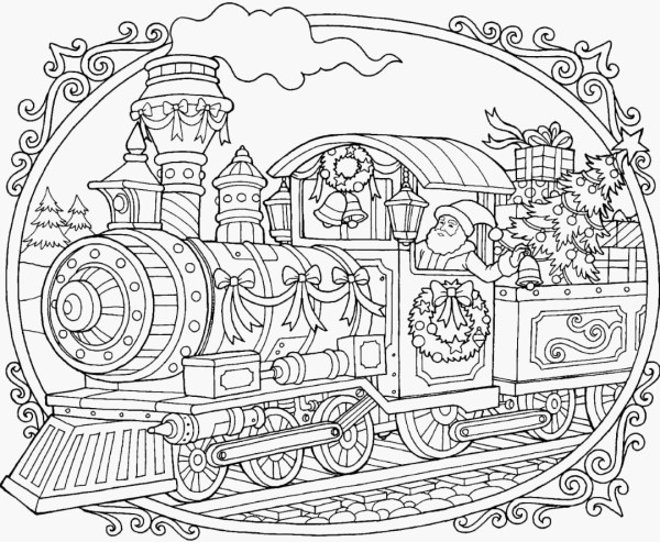 train coloring pages # 60