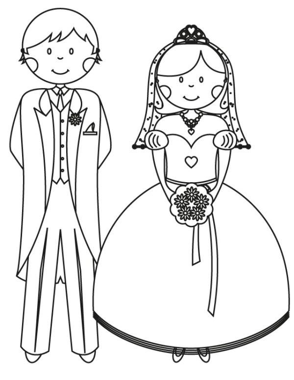 wedding coloring page # 54