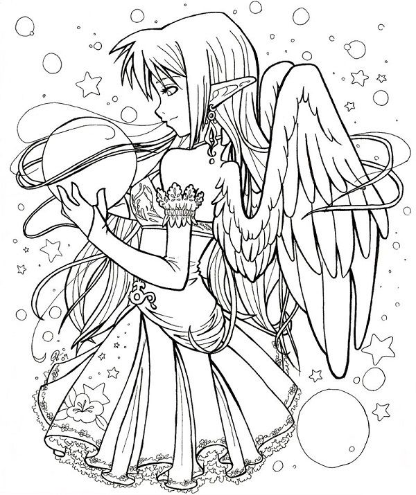 gothic coloring pages # 66