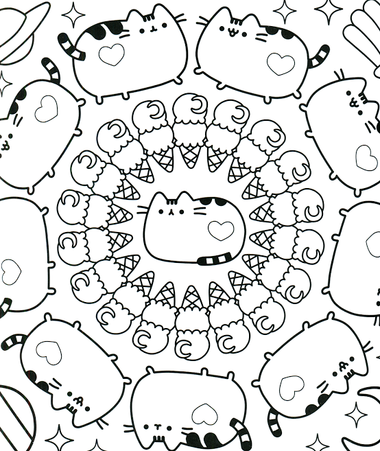 List Of Kawaii Ice Cream Coloring Pages Pict