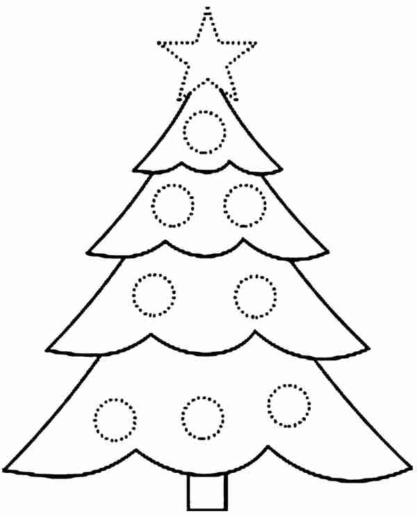 christmas coloring pages for preschoolers # 48