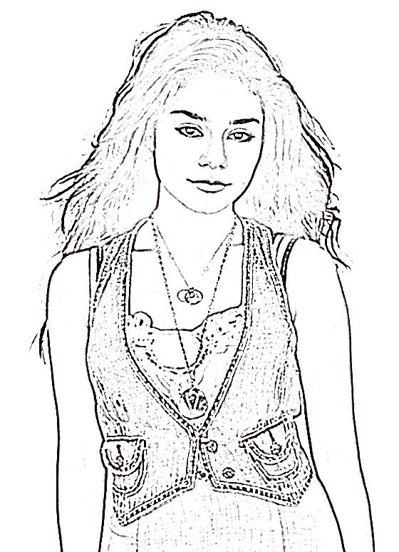 high school musical coloring pages # 94