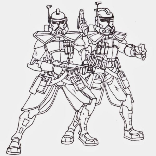 star wars clone wars coloring pages # 7