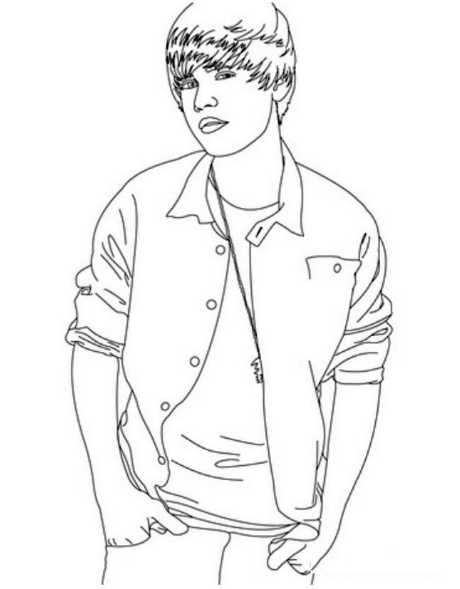 Free printable coloring pages justin bieber coloring home, i love my boyfriend coloring pages