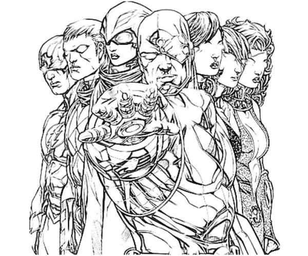 dc coloring pages # 17