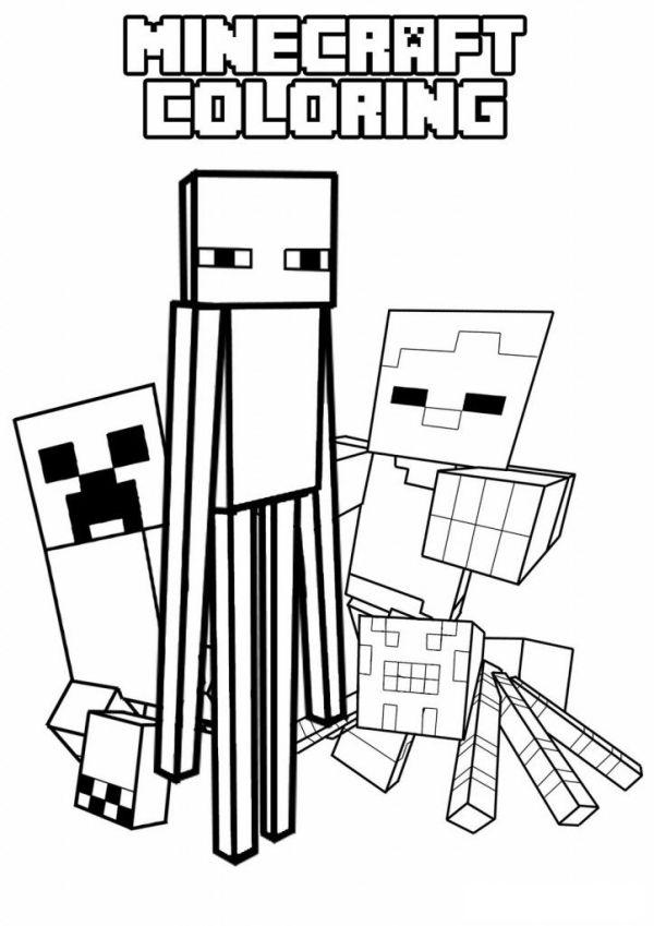 minecraft color page # 12